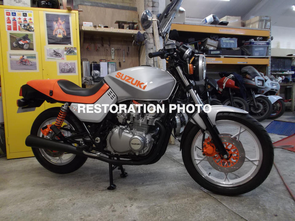 Bonhams : 1982 Suzuki GS650 Katana Frame no  GS650G 103977