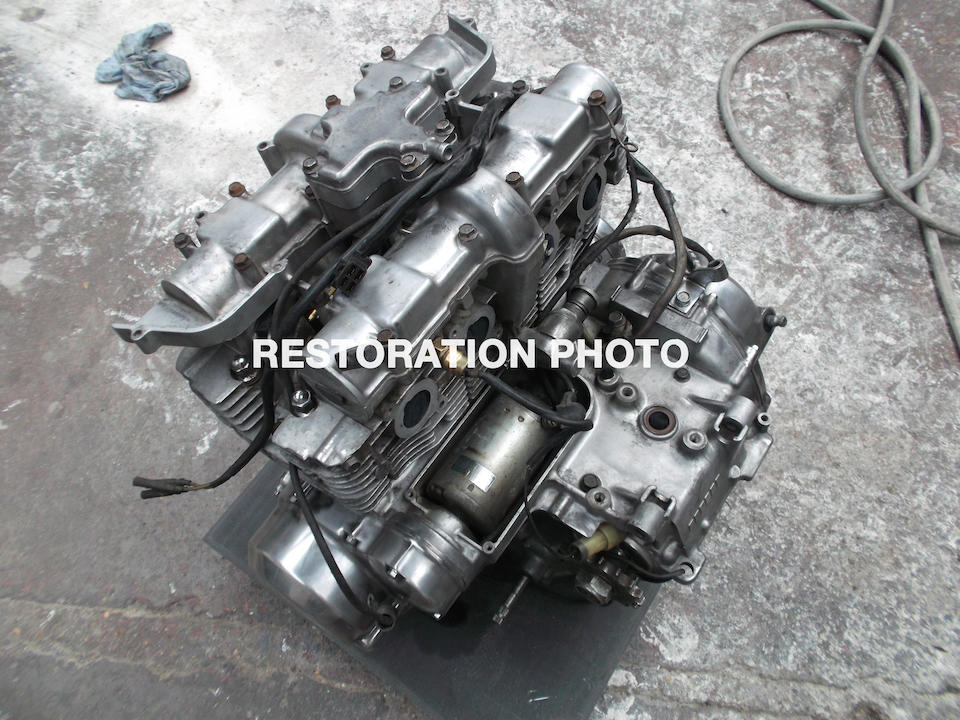 1984 Suzuki 673cc XN85 Turbo Frame no. 00100459 Engine no. P701-100878