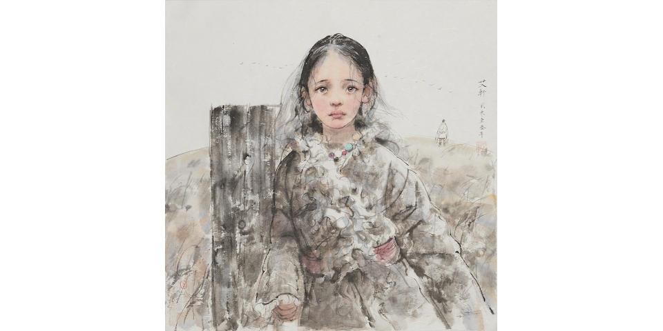 AI XUAN (b.1947) Tibetan Girl