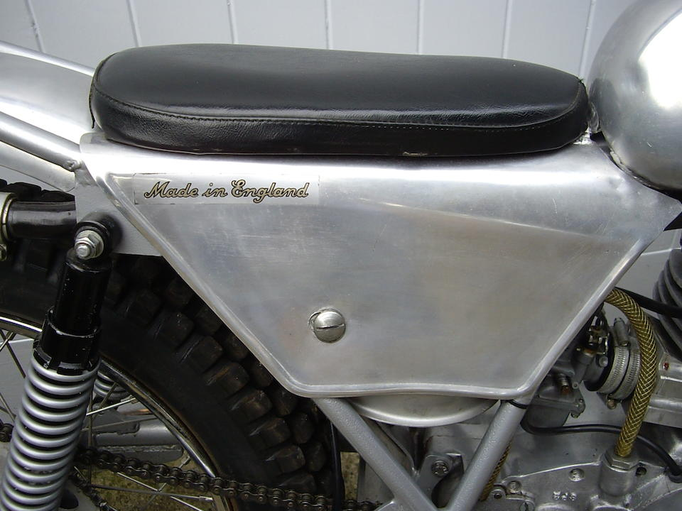 c.1969 Sprite 405 Trials Frame no. Non Visible  Engine no. AM 606 T and SP2 (to crankcase)