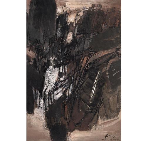 Chu Teh-Chun (Chinese/French, 1920-2014) No. 96