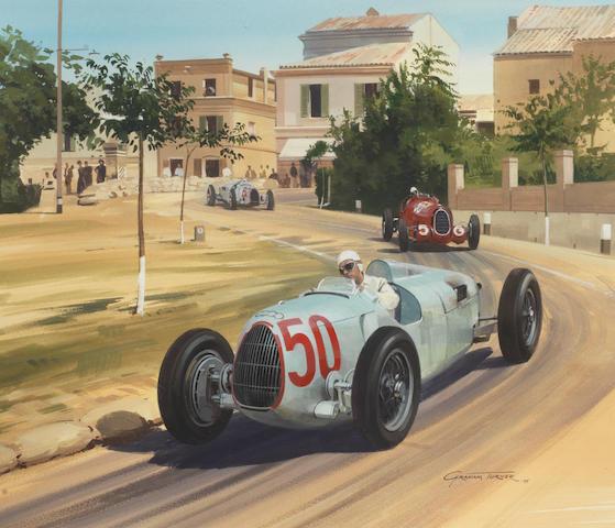 Graham Turner (British 1964- ), 'Coppa Acerbo 1936',