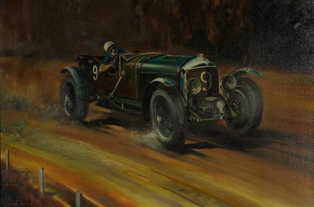Dion Pears (British, 1929-1985), '1930 Le Mans',