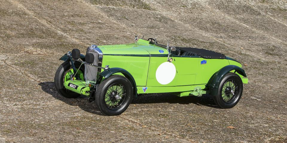 The ex-works, Mike Couper, Alpine Cup-winning, Brooklands starring,1934 Talbot AV105 'Alpine Racer'  Chassis no. 38706 Engine no. 110BG34
