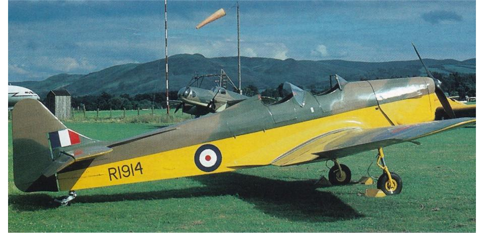 1939 Miles M14A Hawk Trainer III (Magister)