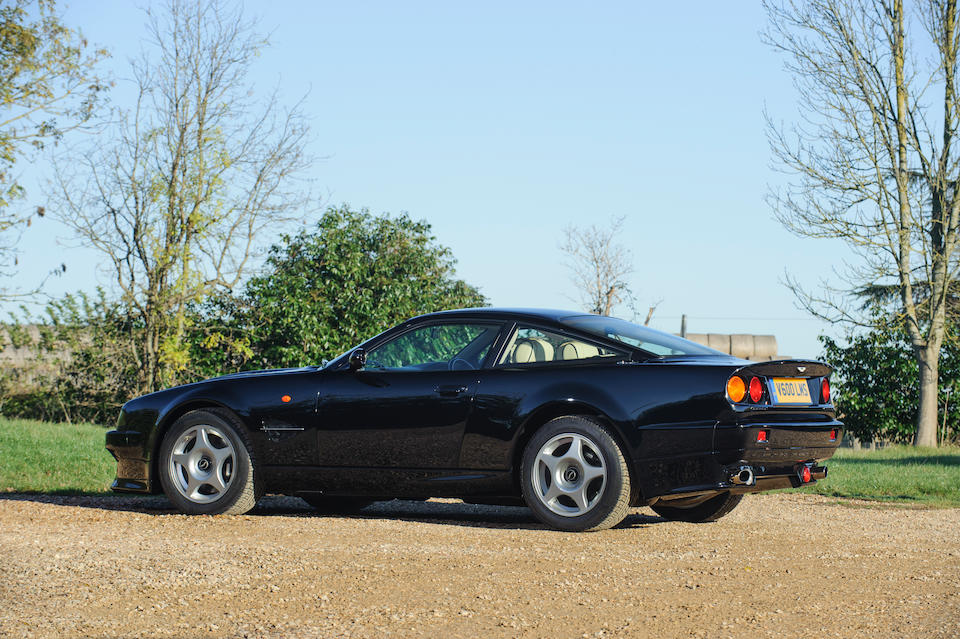 4,846 miles from new,2000 Aston Martin Vantage Le Mans V600 Coupé  Chassis no. SCFDAM2S1XBR70265 Engine no. 59070265MLM