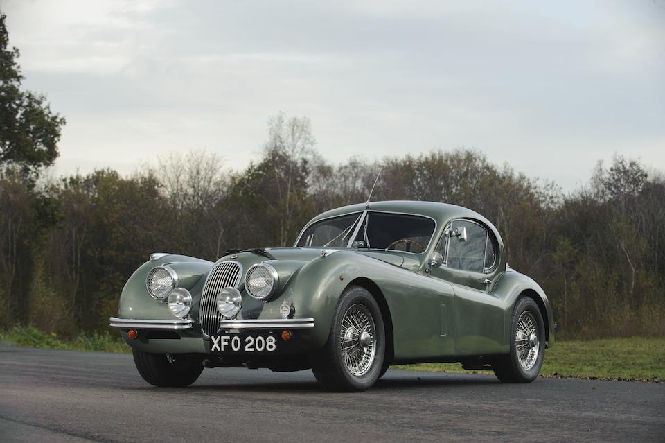 Ex-Nigel Dawes, Left-hand drive,1951 Jaguar XK120 Coupé  Chassis no. 679132 Engine no. W3973-8