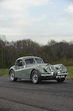 Ex-Nigel Dawes, Left-hand drive,1951 Jaguar XK120 Coupé  Chassis no. 679132 Engine no. W3973-8