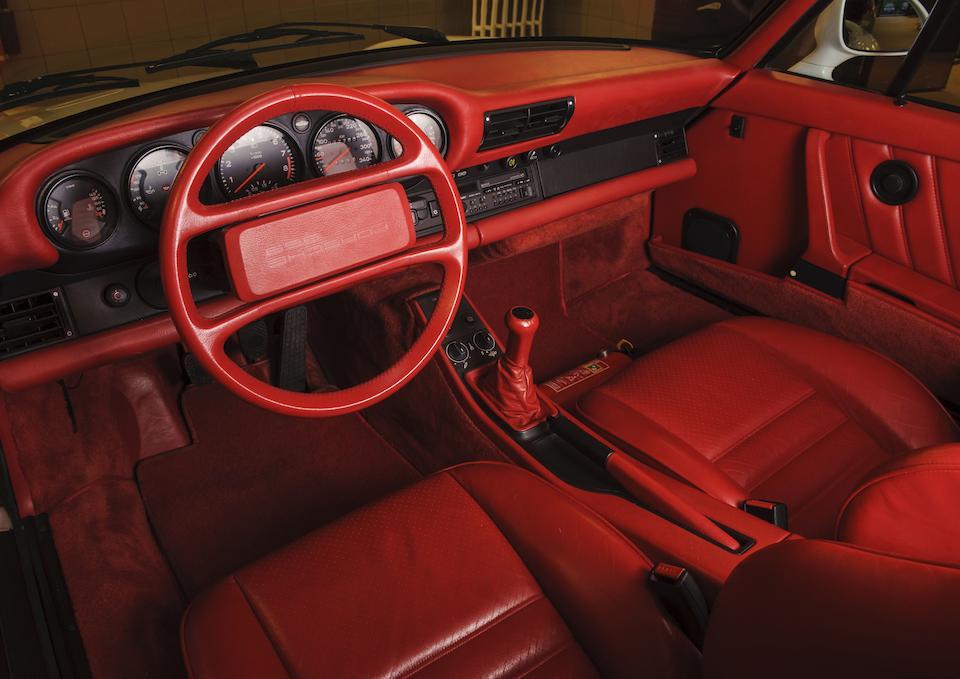 One owner, 27,255 kilometres from new,1988 Porsche 959 Komfort Coupé  Chassis no. WPOZZZ95ZJ5900210
