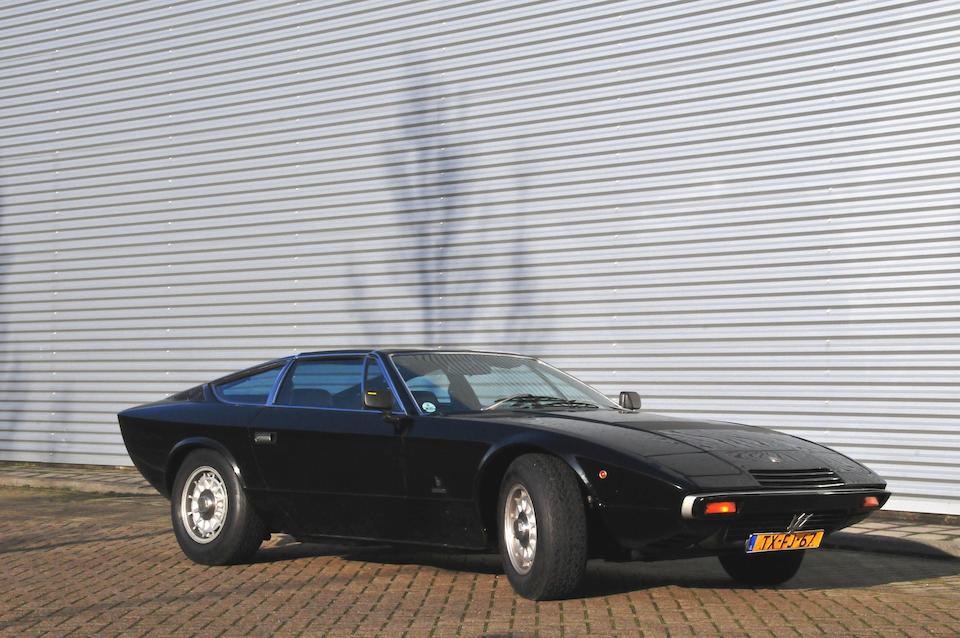 Modèle unique avec un T-Top,Maserati Khamsin Coupé 1977