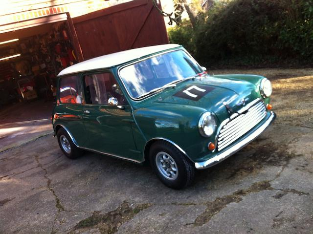1965 Austin Mini Competition Saloon to 'Cooper S' specification  Chassis no. AA2S7S695531