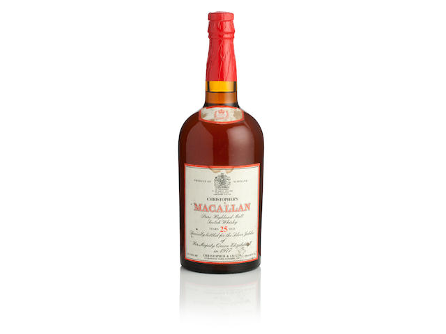 The Macallan Silver Jubliee-25 year old