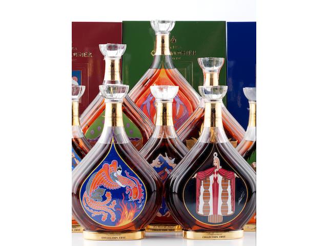 Courvoisier Cognac Erte No. 1 'Vigne' (1) Courvoisier Cognac Erte No. 2 'Vendanges' (1) Courvoisier Cognac Erte No. 3 'Distillation' (1) Courvoisier Cognac Erte No. 4 'Vieillissement' (1) Courvoisier Cognac Erte No. 5 'Dégustation' (1) Courvoisier Cognac Erte No. 6 'L'Esprit de Cognac' (1) Courvoisier Cognac Erte No. 7 'La Part des Anges' (1) Courvoisier Cognac Erte No. 8 'Inedit' (1)