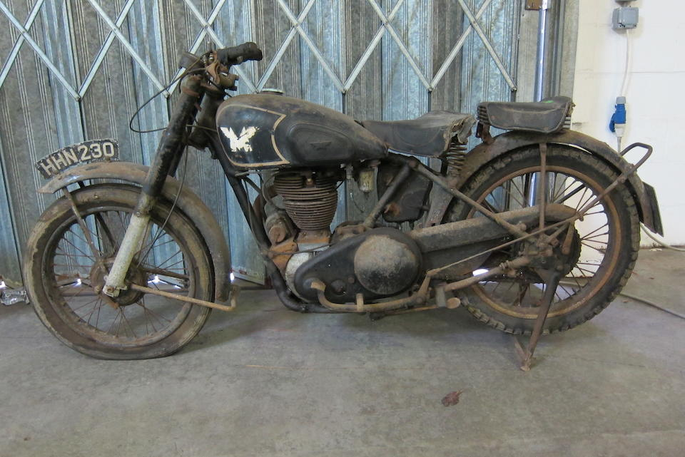 c.1946 Matchless 348cc G3 Project (see text) Frame no. to be advised Engine no. 46/16M 2935