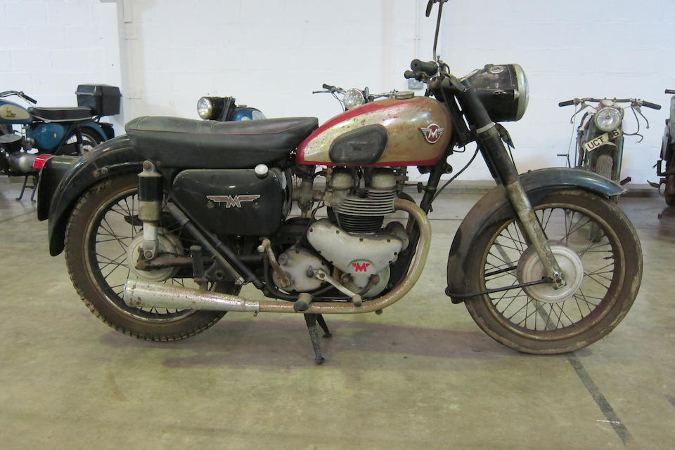 1956 Matchless 593cc Model G11 Project Frame no. to be advised Engine no. 56/G11 01016