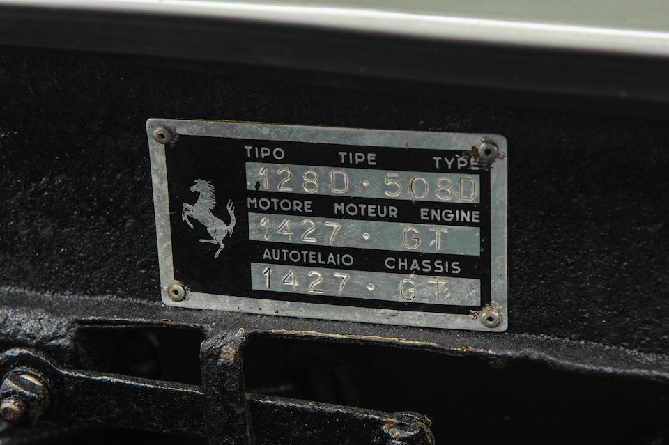 1959 Ferrari 250GT Coupé  Chassis no. 1427 GT Engine no. 1427