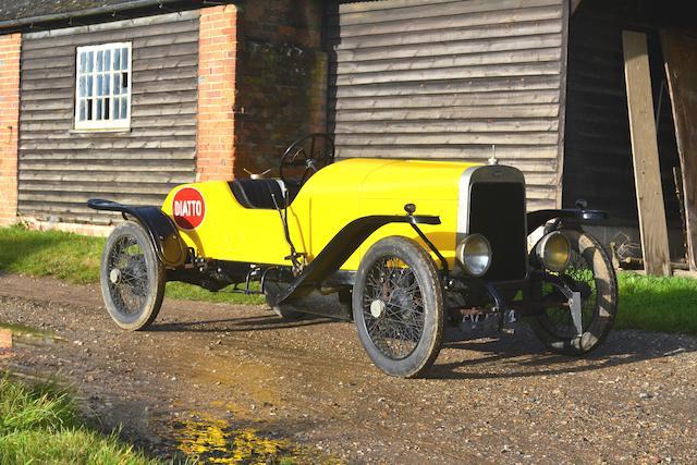 1919 Diatto Tipo 4DA Sports  Chassis no. 3031 Engine no. 1328