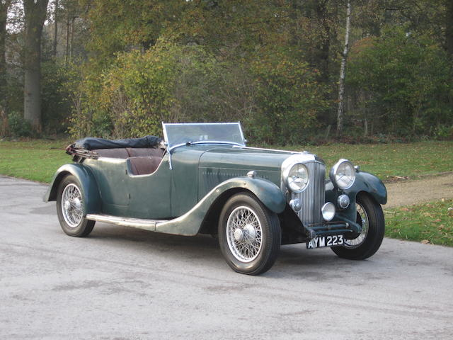 In the present family ownership for circa 75 years,1934 Bentley 3½-Litre Tourer  Chassis no. B171AE Engine no. P7BK