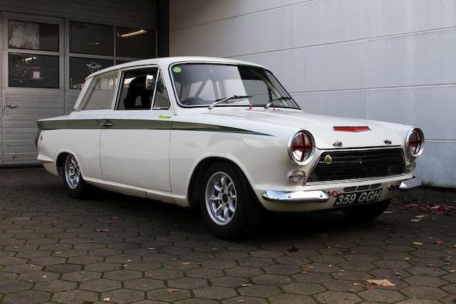 1963 Ford Lotus Cortina MkI Competition Saloon  Chassis no. Z74C065917 Engine no. LF9454LBA