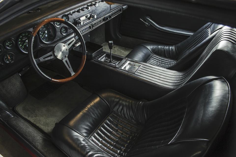 1970 De Tomaso Mangusta Coupé  Chassis no. 8MA-1098 Engine no. 302/232