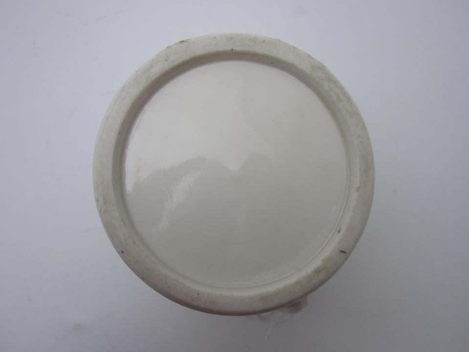 A blanc de chine wine ewer  Mid 17th century