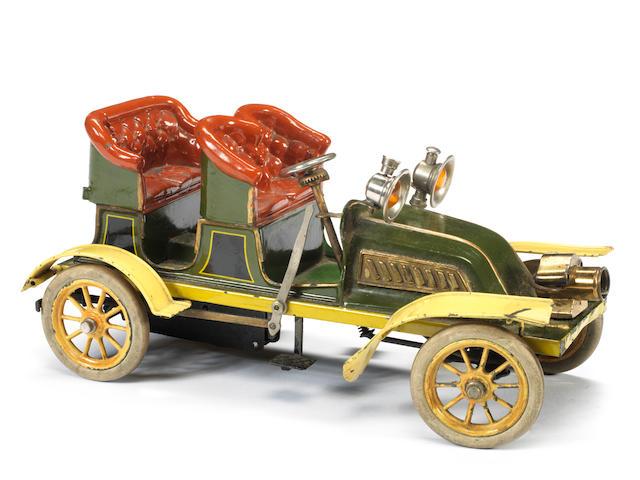 Bing c/w tinplate four-seat Tourer, German circa 1904