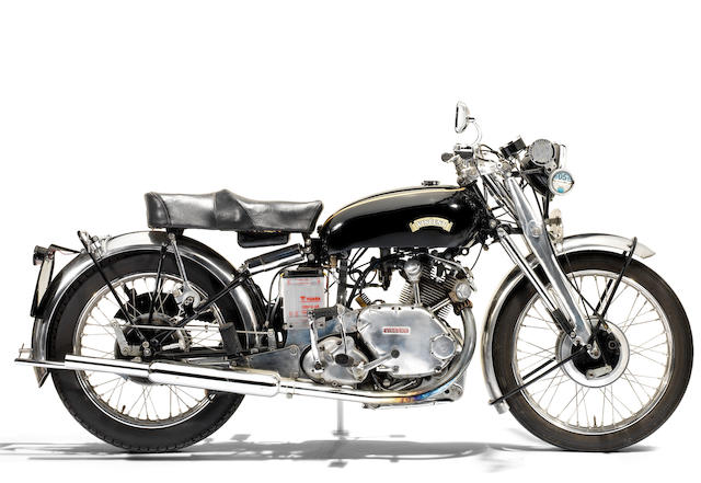 1950 Vincent 499cc Comet Frame no. RC/1/5967 Engine no. F5AB/2A/5815 (see text)