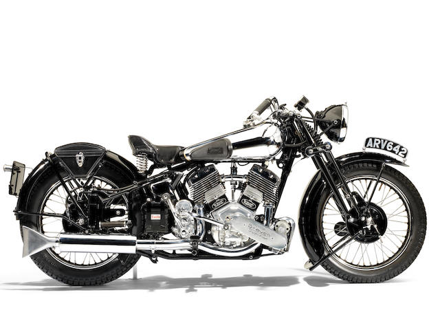 The Earls Court Motorcycle Show,1937 Brough Superior 1,096cc 11-50hp Frame no. M8/1882 Engine no. LTZ/O/57634/S