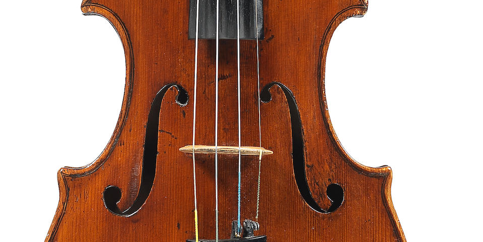 An interesting Italian Violin circa 1790 School of Storioni, (3)