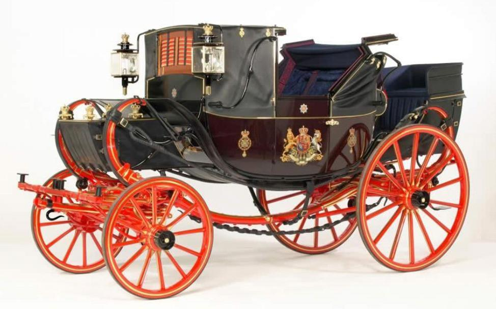 Ex-Royal British Mews, ex-James Coson Collection, Fastidiously Restored ,c.1835 Traveling Landau