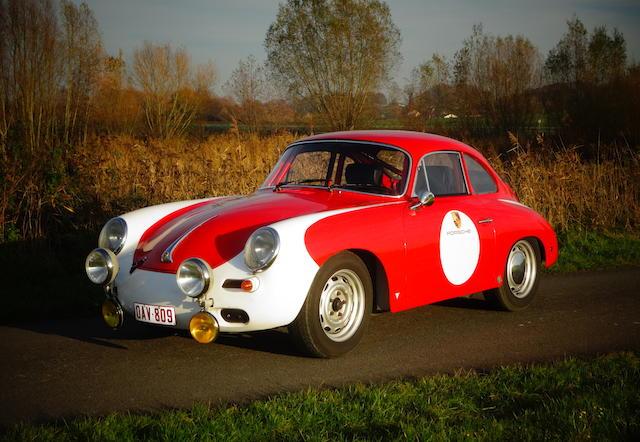 Numéros concordants, Porsche 356 C 1600 SC coupé 1964