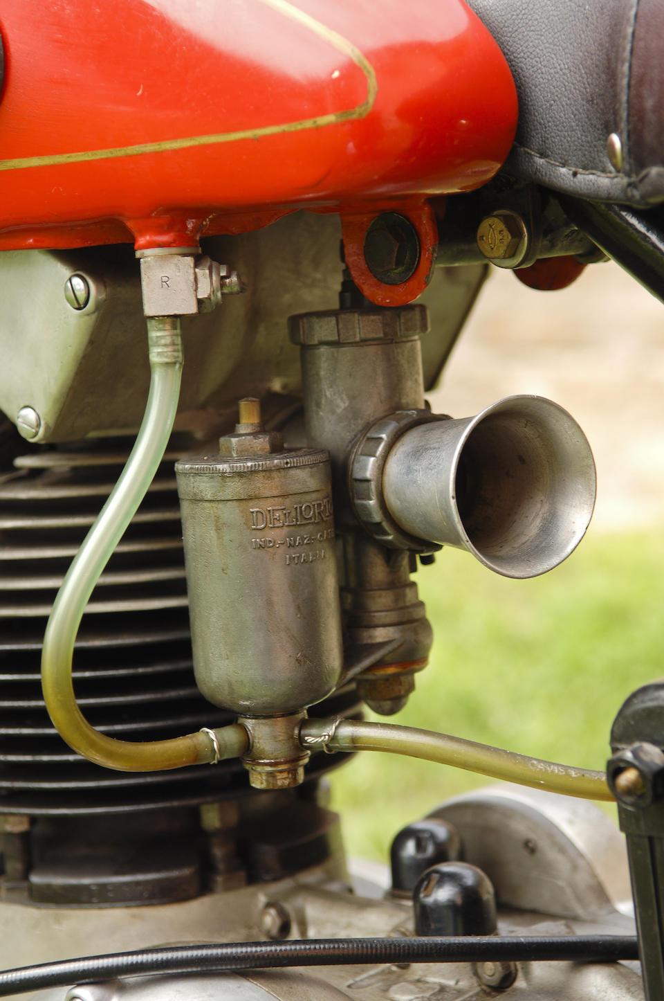 Gilera Saturno Sport 499 cm3 1949 Frame no. 266214 (voir texte)  Engine no. 262955