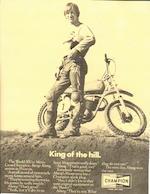 Ex Bengt Aberg, USA InterAm Series,Husqvarna 405 cm3 Moto-Cross 1970 Frame no. MH 3418 Engine no. M402250