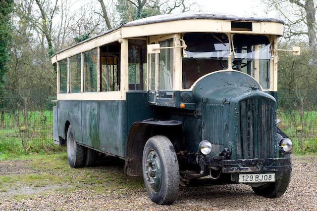 Présenté en remarquable état d'origine,Renault TN4B autobus parisien 1931