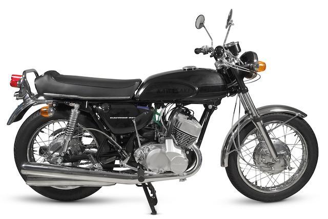 Kawasaki Mach III 498 cm3 1968 Frame no. KAF 10505 Engine no. KAE 08751