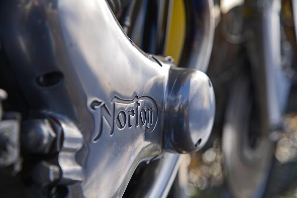 Norton Commando 745cc Production Racer 1971 Frame no. 145183 Engine no. 145183