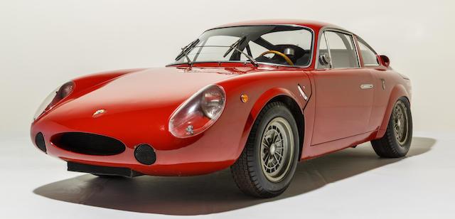Provenant de la Collection Maranello Rosso,FIAT-Abarth 1000 Bialbero « Long Nez » Coupé Compétition Champion du Monde 1964