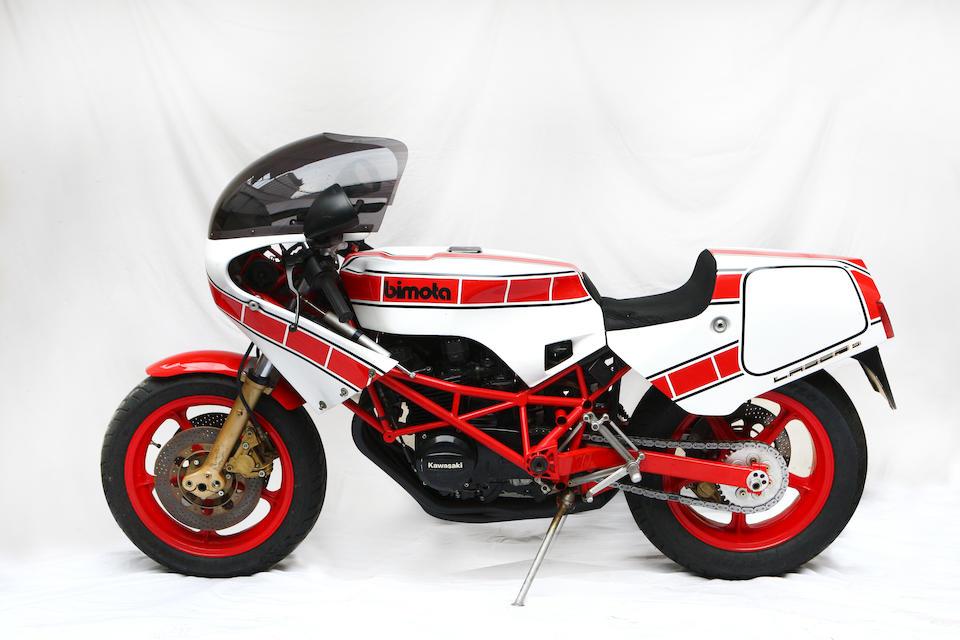 Bimota 550cm3 KB2 1983 Frame no. 138/498307 Engine no. KZ550DE024603