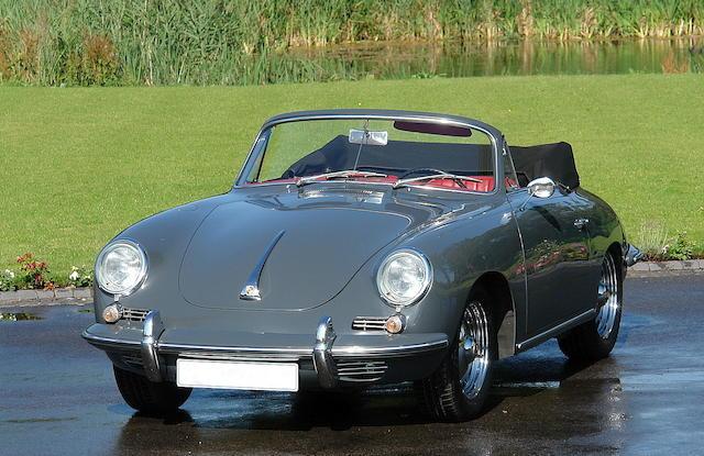 Porsche 356B Cabriolet 1962