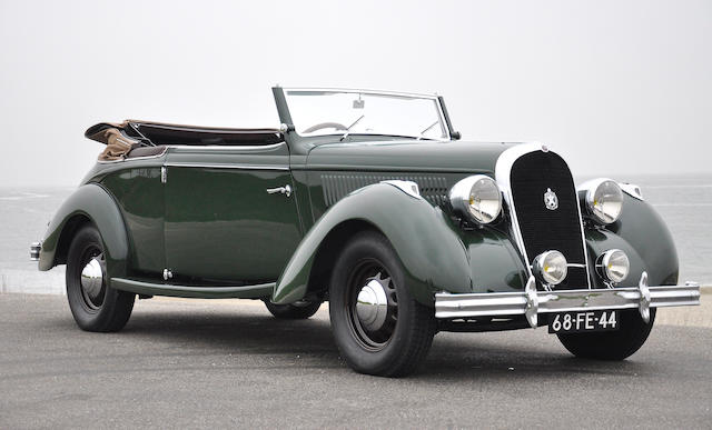 Hotchkiss Type 480 « Paris-Nice » cabriolet 1936