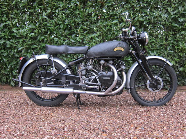 Vincent 998 cm3 Série C Black Shadow 1952 Frame no. RC10026B/E Engine no. F10AB/1B/8126