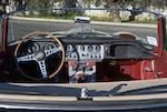 Livrée neuve en Italie ; trois propriétaires depuis sa livraison, Jaguar  Type E 3.8-Litre série 1 roadster 1962