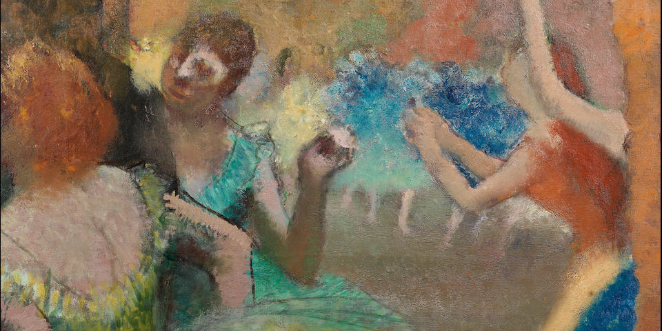 Artist at the Opéra: Edgar Degas' Ground-Breaking Scène de Ballet