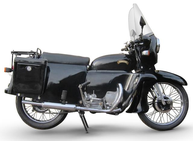 One owner from new,1955 Vincent 998cc Black Shadow Series-D, With Prince Bodywork Frame no. RD12574B Engine no. F10AB/2B/10674