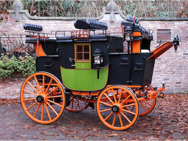 c.1895 Private European Road Coach