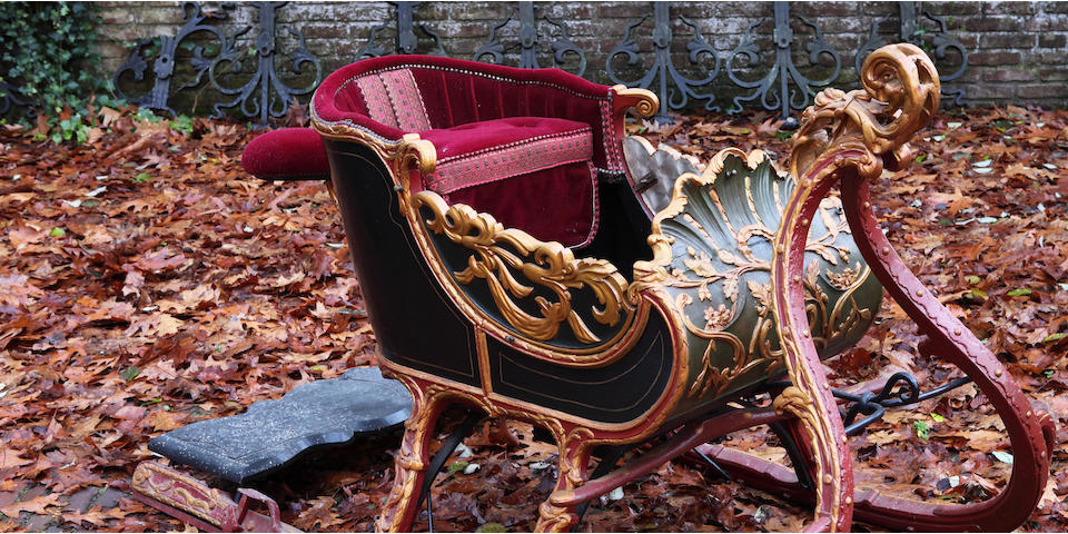 18th Century Sled with curved Body