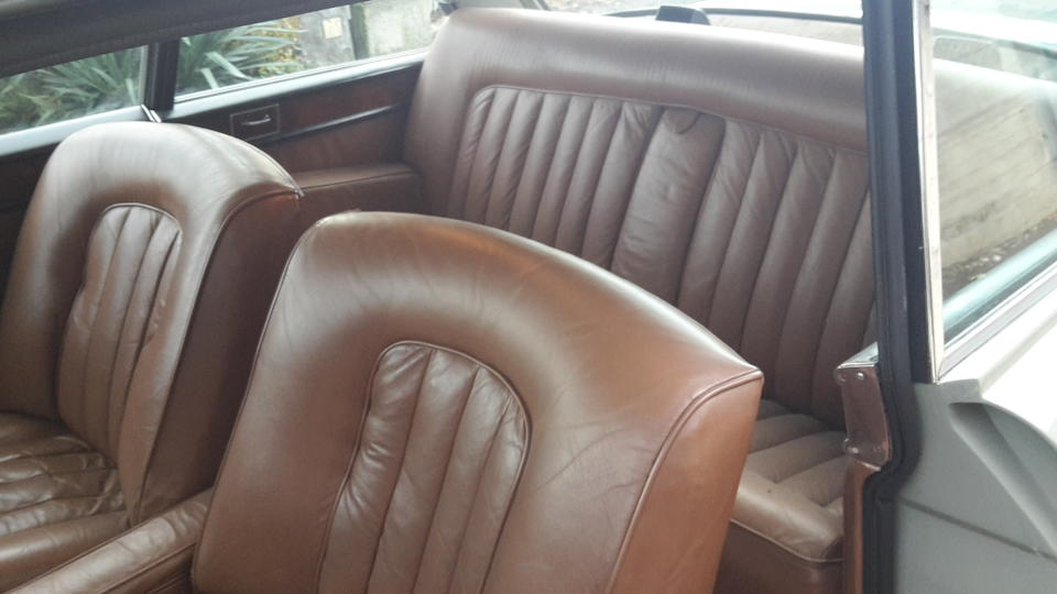 Livrée avec volant à gauche d'origine,Bentley S3 Continental berline deux portes 1963