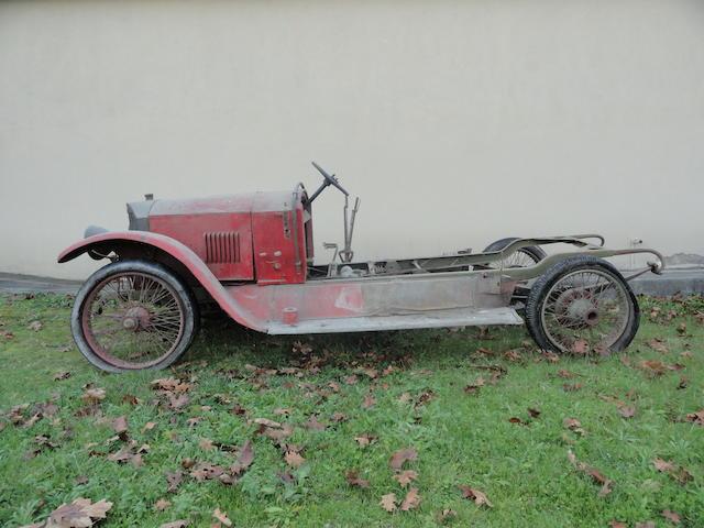 Benz 10/30 PS châssis roulant (voir texte) c.1921