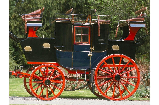 c.1892 Private Road Coach