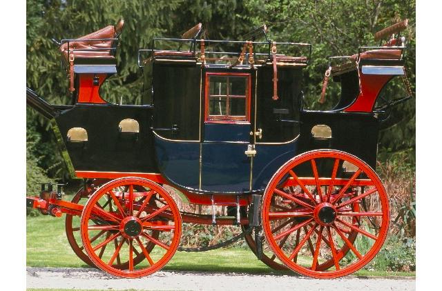 c.1892 Private Road Coach